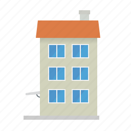 apartment, building, city, homes, house, tenement icon