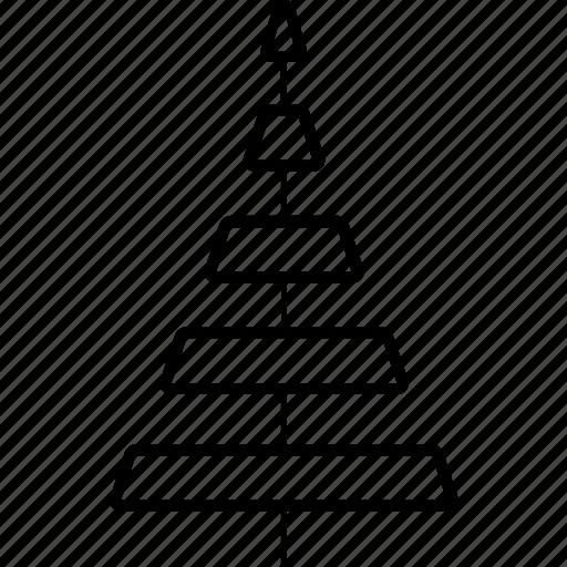 christmas tree, ecology, park, tree icon