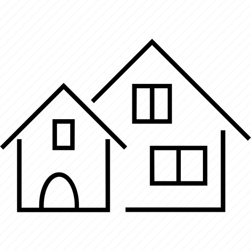 estate agent, home, house, property, residential property icon