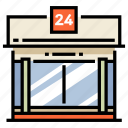 building, grocery, retail, shop, store, storefront, supermarket icon
