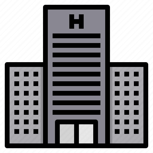 Architecture, building, city, hotel, urban icon - Download on Iconfinder