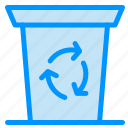 been, journey, recycle icon
