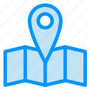 journey, location, map icon