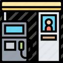 gas, station, petroleum, refuel, dispenser