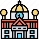 government, building, capitol, city, hall
