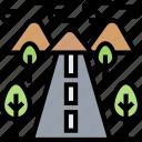 road, highway, street, landscape, infrastructure