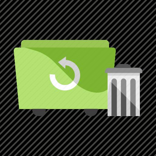 Bin, garbage, junk, recycle, rubbish, trash, trashcan icon - Download on Iconfinder
