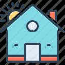 domicile, habitation, homestead, house, mansion, premises, residence