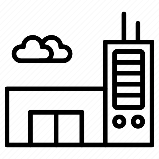 building, business, construction, document, office, property, work icon