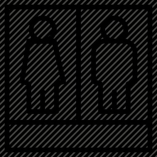 business, female, human, man, people, profile, statistics icon