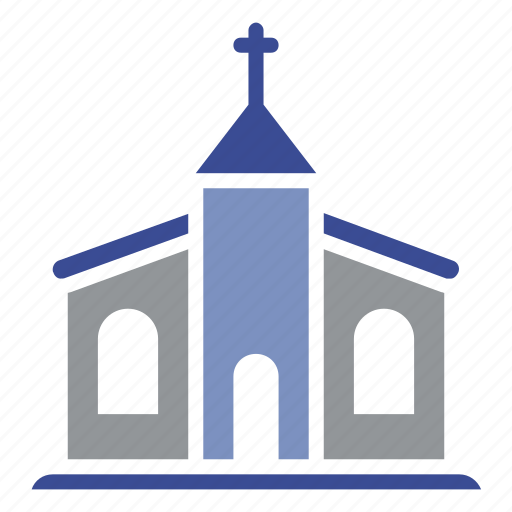 christmas, church, cross, religious, snowflake, temple, year icon