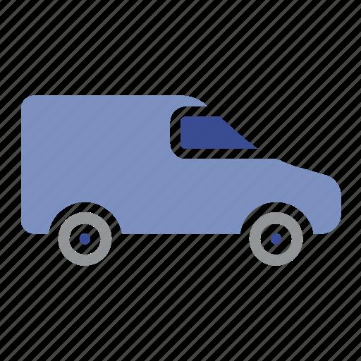 bus, cargo, shipment, shipping, van, vehicle icon