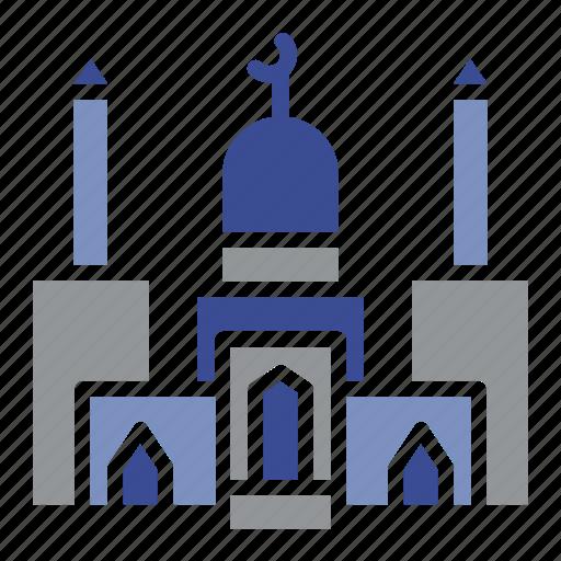architecture, audio, estate, masjid, mosque, prayer, speaker icon
