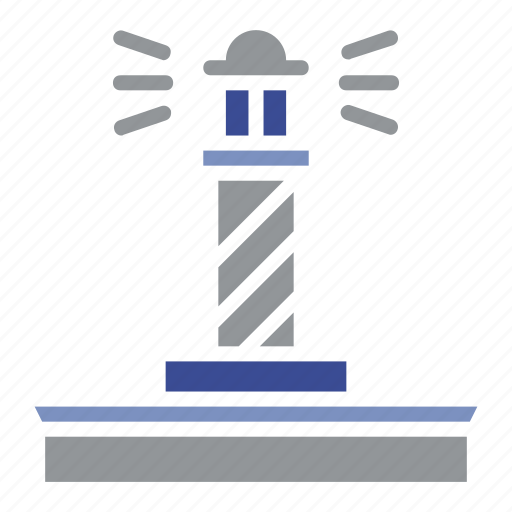 anchor, building, compass, guide, light house, nautical, ship icon