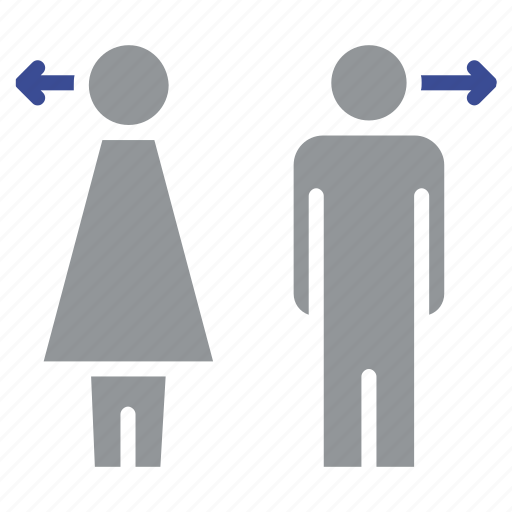 account, avatar, business, character, female, human, toilets icon