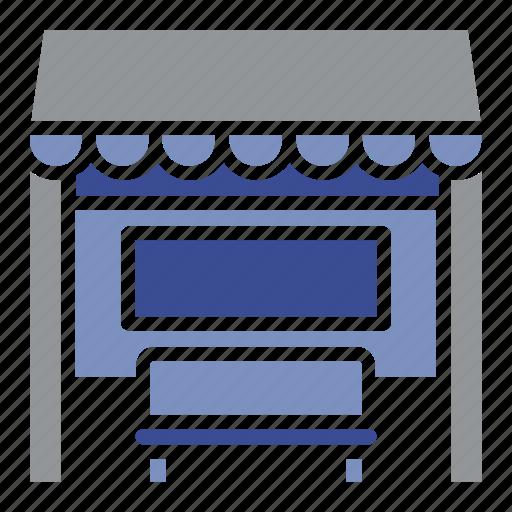automobile, bin, bus stop, delivery, garage, trash, vehicle icon