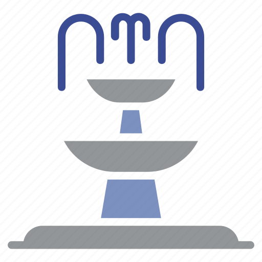 ecology, energy, environment, fountain, garden, shower, water icon