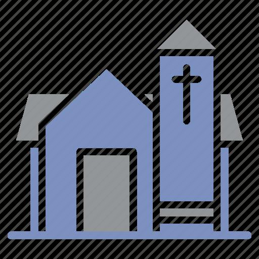 architecture, building, church, city, health, hospital, medicine icon