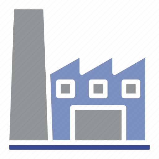 architecture, construction, equipment, factory, industry, manufacturing, production icon