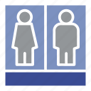 toilets, profile, female, business, people, human, man