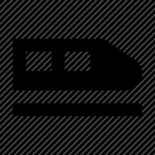 aerotrain, bullet train, solar train, tram, winged train icon