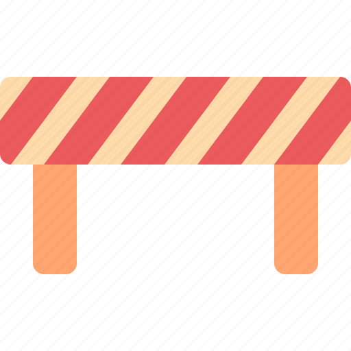 barrier, block, construction, road, street icon