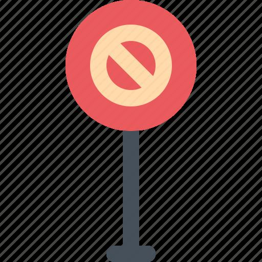 no, road, sign, traffic icon
