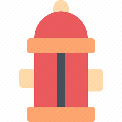 emergency, fire, firefighter, hydrant, water icon