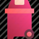 bin, container, garbage, rubbish, trash icon