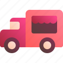 drink, food, lunch, street, truck icon