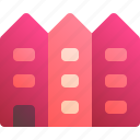 boarding, building, house, rent, room icon