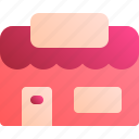 building, business, market, shop, store icon