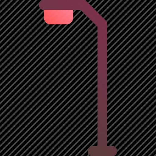 city, lamp, road, street, traffic icon