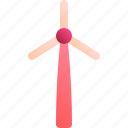 energy, modern, power, wind, windmill icon