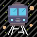 rail, train, transportation