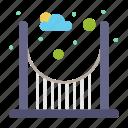 bridge, parks, passage icon
