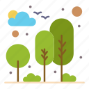 city, garden, nature, park, tree