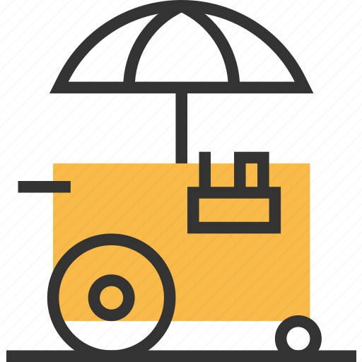 cart, food, kitchen, shop, store icon