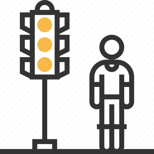 light, road, sign, traffic, transportation icon