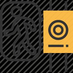 road, sign, traffic, transport, transportation, warning icon