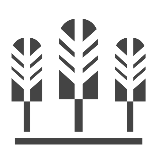 city, elements, facilities, plant, public, town, trees icon