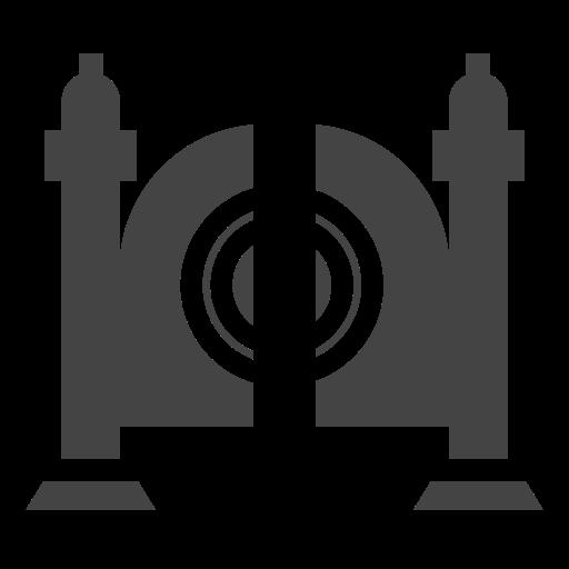 city, door, elements, facilities, gate, public, town icon