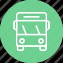 bus, vehicle, transport