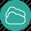 cloud, data, storage, weather icon