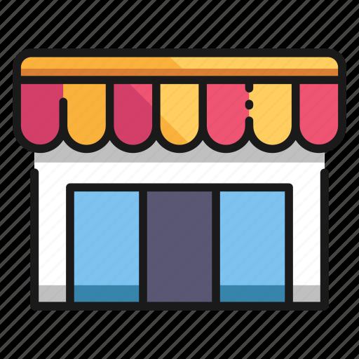 business, city, market, retail, shop, store, urban icon