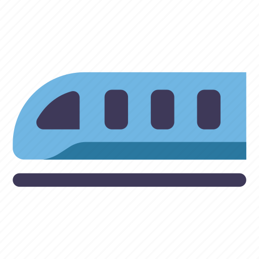 railway, subway, train, transport, transportation, travel icon