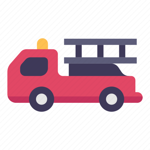 car, emergency, fire, firetruck, rescue, truck, vehicle icon