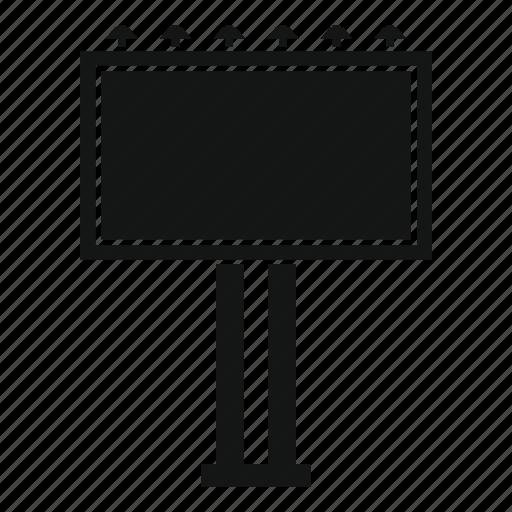 advertisement, advertising, banner, billboard, blank, marketing icon