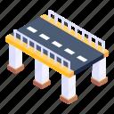 highway, bridge, overpass, flyover, footbridge