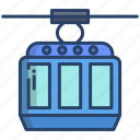 cable, car, cabin